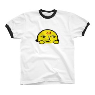 ぽんぽんさん Ringer T-shirts