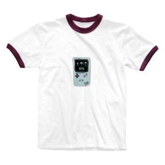 Grape Creeks 【携帯ゲーム】ロゴ Ringer T-shirts