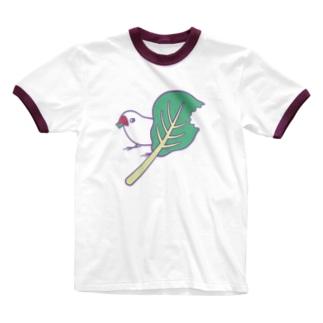 小松菜ちゃん Ringer T-shirts