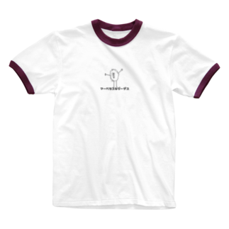 Asukalleのマーベラスなジーザス Ringer T-shirts