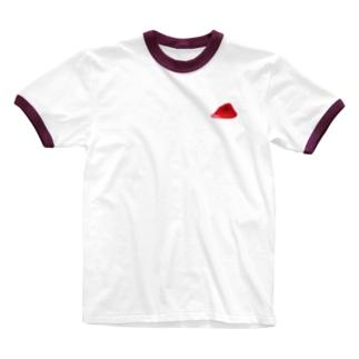 まぐろの切り身 Ringer T-shirts