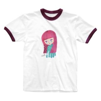 夜が来た Ringer T-shirts
