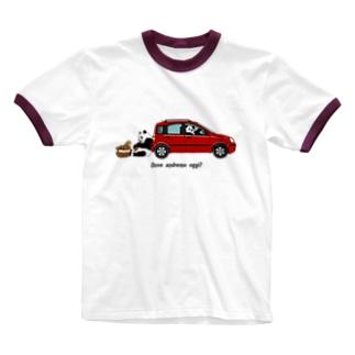 イタリアの車が好き2★ Ringer T-shirts