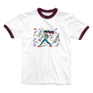 Chika Chika Shaka Shaka Ringer T-shirts