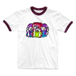 Say wussup? Ringer T-shirts