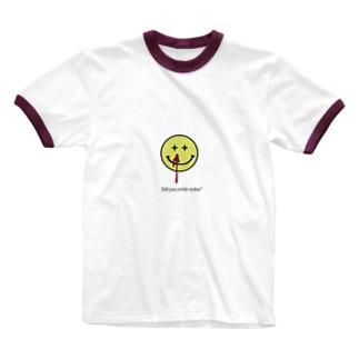toriaezu_warattoke Ringer T-shirts