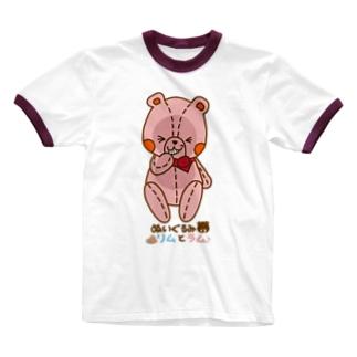 ラムの「いっしっしっ」編 Ringer T-shirts