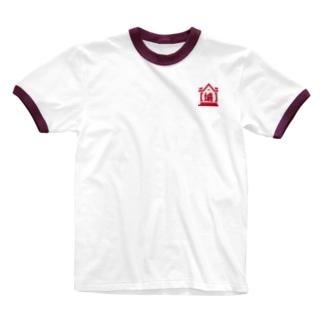城 体操服 Ringer T-shirts