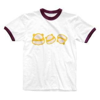 おにぎり? Ringer T-shirts