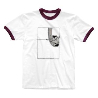ピョン太救出大作戦 (少年) Ringer T-shirts