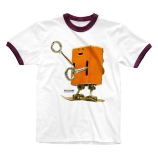 BIG パト Ringer T-shirts