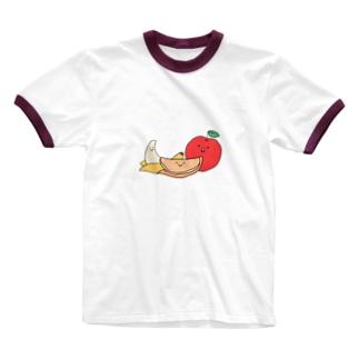 旨みの三銃士 Ringer T-shirts