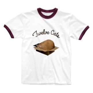 住めば都 Ringer T-shirts