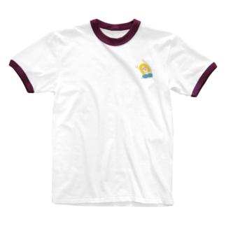 エイミー. 碧 Ringer T-shirts