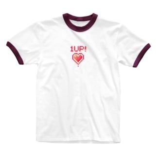 ワンナップ! Ringer T-shirts