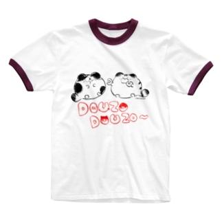 どうぞどうぞ Ringer T-shirts