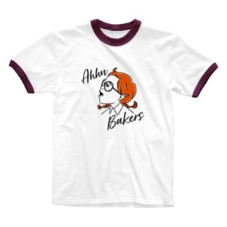 Ahhn Bakers Ringer T-shirts
