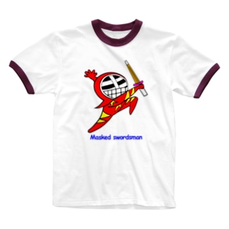 マスクド・レッド Ringer T-shirts