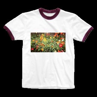 selfishのトラフィックジャム Ringer T-shirts
