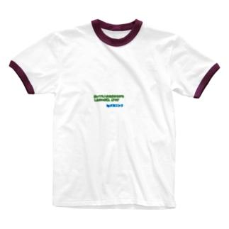 メカニトリの言葉達第一段 Ringer T-shirts