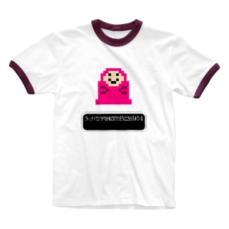 レトロゲーム - RETRO GAME Ringer T-shirts