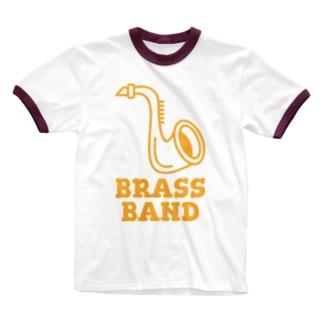 ブラスバンド Ringer T-shirts