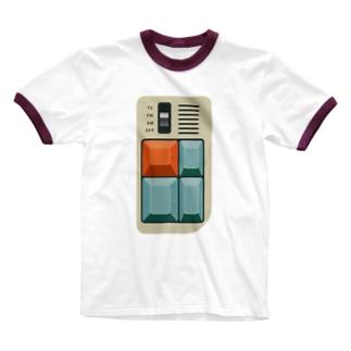 electro_switch#1 Ringer T-shirts