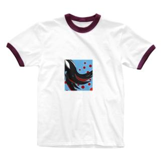 ええにおいするやつ Ringer T-shirts