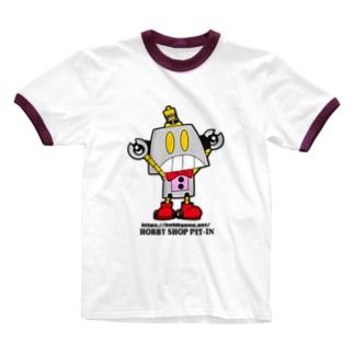 Bot君のアイテム Ringer T-shirts
