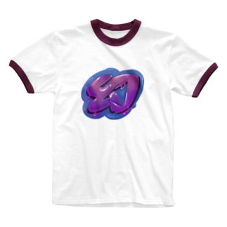 Slow Typingの幻 まぼろし 100 Ringer T-shirts