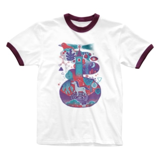 Wonderland Ringer T-shirts