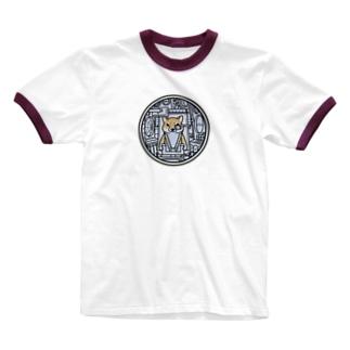 コックピット・柴犬(赤柴) Ringer T-shirts