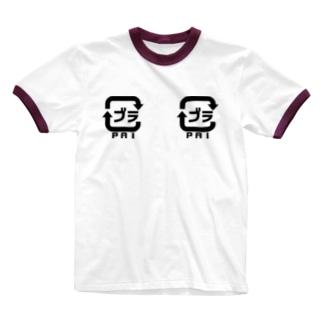賽狐堂 ~PSYCHODO~のブラマーク Ringer T-shirts