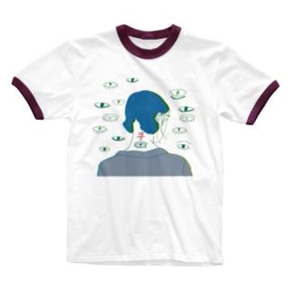ふ Ringer T-shirts