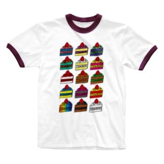 CAKE Ringer T-shirts