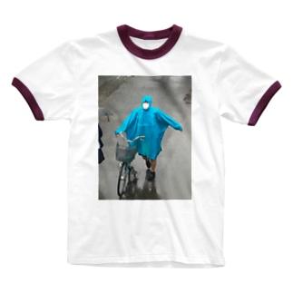 雨森(夜のコンビニ討伐クエスト)のRinger T-shirts