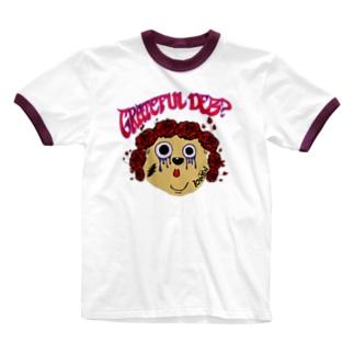グレイトフルデブ Ringer T-shirts