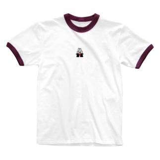 †きゅうけつうさぎ† Ringer T-shirts