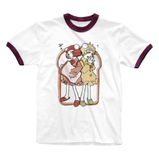 【飯田テイケ×渡瀬しぃの】 Sewing Girls 🍞 Ringer T-shirts