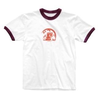 aniまる リス / T-shirt Ringer T-shirts