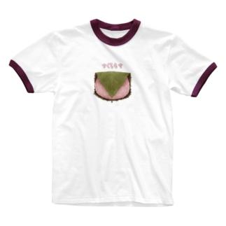桜もち Ringer T-Shirt