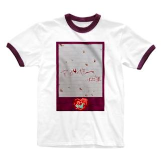 アガペー🥀 Ringer T-shirts