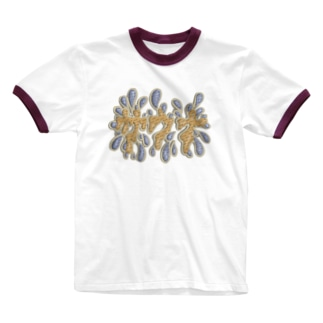 サウナ Ringer T-shirts