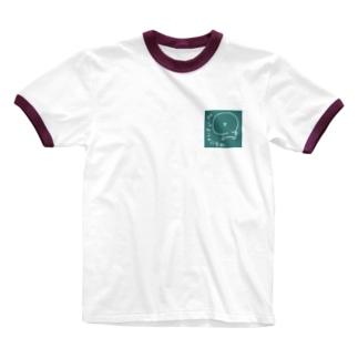 つみれちゃん太郎さん Ringer T-shirts