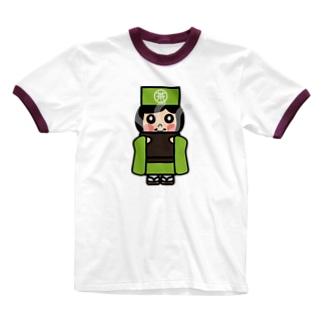 お茶子ちゃん Ringer T-shirts