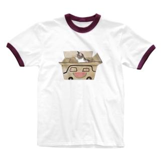 スイカー Ringer T-shirts
