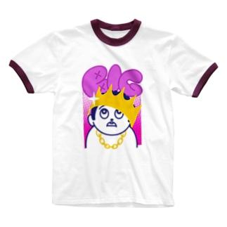 BIG ビッグ 232 Ringer T-Shirt