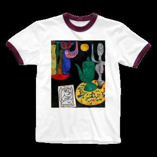 dohshinのパウル・クレー『 無題 最後の静物 』 Ringer T-shirts