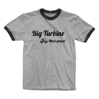 MORE POWER Ringer T-shirts