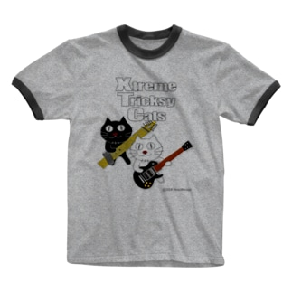 ネコ兄弟 tXTC_51 Ringer T-shirts
